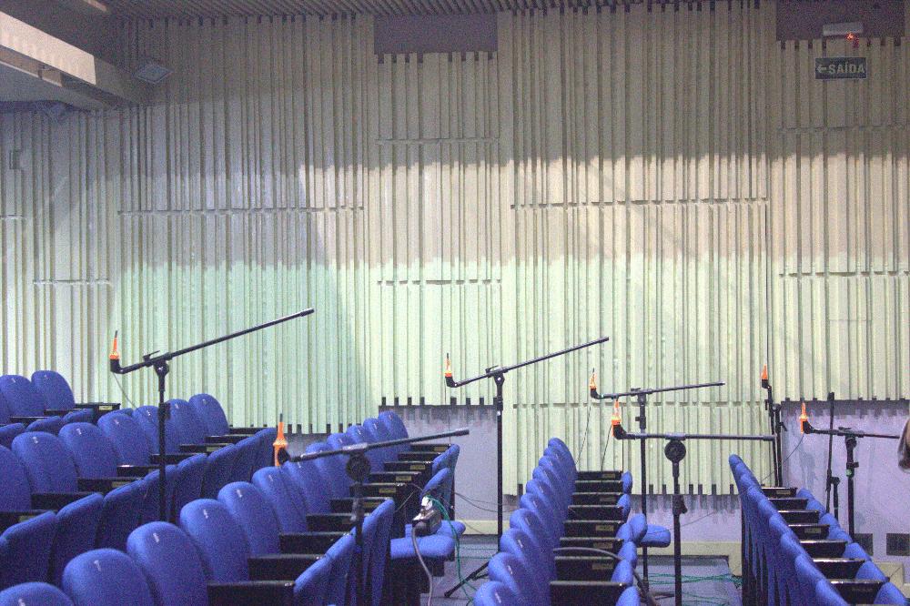 concert hall acoustic measurement
