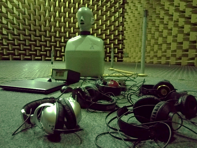 Photo of head and torso simulator