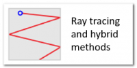 Ray tracing and hybrid methods