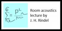 Room Acoustics lecture by Jens Holger Rindel