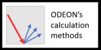 ODEON's calculation methods