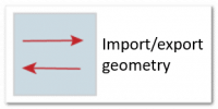 import export geometry