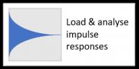 Load & analyse impulse responses
