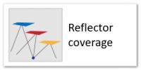 Reflector coverage