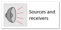 sources and receivers